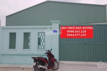 Cho thuê nhà xưởng DT 500m2, 30 triệu/tháng, đường TX25, P. Thạnh Xuân, Quận 12. LH: 0937.388.709