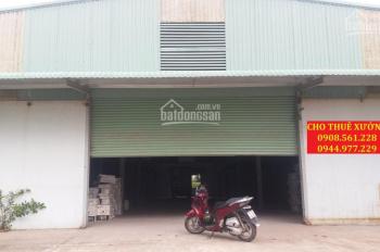 Nhà xưởng cho thuê Thạnh Lộc 40, quận 12. DT: 600m2, giá 25 triệu/tháng, LH: 0937.388.709