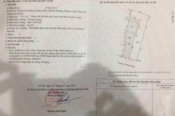 Cho thuê 400m2 đất làm MBKD chỉ 62tr/th tại số 168 mặt đường Trường Chinh