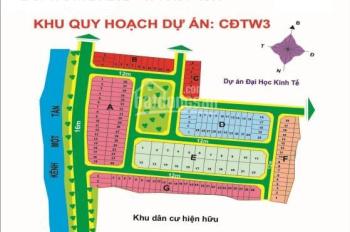 Bán đất KDC mẫu giáo trung ương 3, Quận 9, DT 6x18,5m, giá 47,5 tr/m2