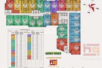 Chính chủ cần cho thuê căn hộ Gemek Tower đầy đủ nội thất, giá chỉ 6.5tr/tháng. LH 0904999135