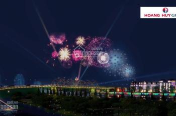 Nhà mặt phố tại đường Chi Lăng - Hoàng Huy Riverside - Hai mặt tiền - 5.6 tỷ - CK 4,5% - 0936620766
