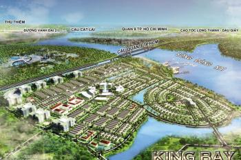 Hot! Bán gấp lô LVK khu A2 ven sông dự án King Bay, Nhơn Trạch, Đồng Nai