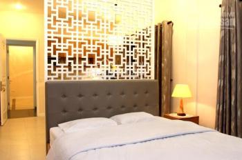 Cho thuê nhà đường Bùi Viện, 4m x 20m, trệt - 5 lầu thang máy 10PN, full nội thất giá 115 triệu