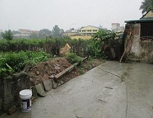 Chuyển nhượng thửa đất số 100 tại ngách 24 ngõ 2 phố Hoàng Diệu, thị xã Sơn Tây