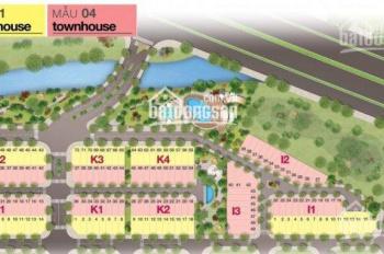 Gia đình cần bán gấp nhà phố căn góc, gần hồ bơi giai đoạn 2, giá 4.8 tỷ, LH 0935.783.568