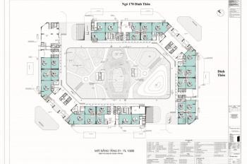 Cho thuê sàn thương mại 1026m2 tại dự án The Emerald - CT8 Mỹ Đình, 116 triệu/tháng