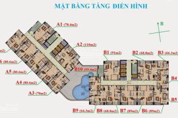 Bán gấp CH Garden Hills 99, Trần Bình căn A-1603 (70m2) và B-1806 (89m2), giá 25tr/m2, 0936.076.186