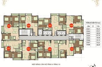 Bán gấp CHCC 89 Phùng Hưng, DT 81,87m2, SĐCC, giá 18tr/m2. LH A Chính 0936104216 (hỗ trợ vay NH)