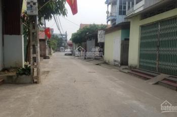 Cần bán nhà tại Do Thượng, Tiền Phong, Mê Linh, lô góc (5x18)m, ô tô tránh, DT: 90m2, giá 18 tr/m2
