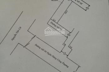 Bán đất tặng 5 căn phòng trọ góc 3 mặt tiền hẻm nhánh Lộ Ngân Hàng, kế khách sạn Hào Đông