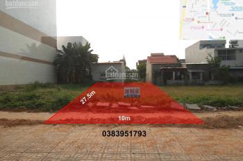 Cho thuê đất 275m2 (10x27.5m) Hùng Vương, Tam Kỳ