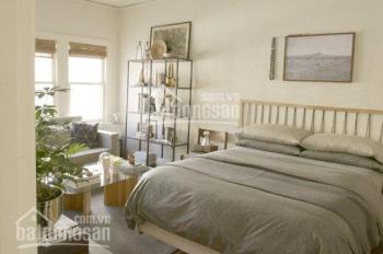 Căn hộ chung cư Miếu nổi 18 tầng: 55m2, 2PN, nội thất, giá: 9.5tr/th, cọc 01 tháng, LH: 0935832183