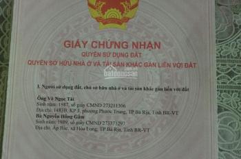 Tôi còn 1 lô đất chính chủ tại mặt tiền Hương Lộ 3, xã Long Phước, giá 850tr