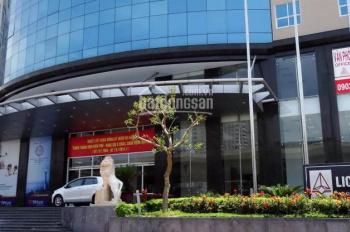Cho thuê VP 110-200-450m2 ô góc, 2 mặt thoáng tại tòa nhà Licogi 13, Thanh Xuân, Hà Nội