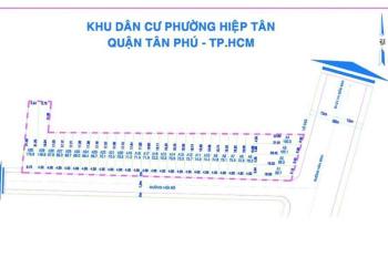 Bán gấp lô đất ngay MT Hoà Bình Tân Phú, gần KDL Đầm Sen, chỉ 37tr/m2-80m2, SHR. LH 0933303242