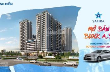 3 suất nội bộ cuối sở hữu CH Safira Khang Điền ở block đẹp nhất dự án chỉ 1,45 tỷ/căn LH 0909505084