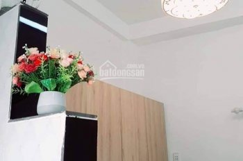 Bán nhà mini Q8 P12, 3 lầu, tặng máy lạnh, máy giặt, 3 ban công