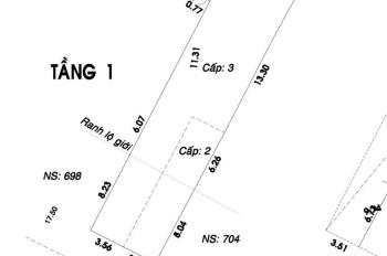 Bán nhà mặt tiền Cách Mạng Tháng 8, phường 5, quận Tân Bình, 311m2 đất