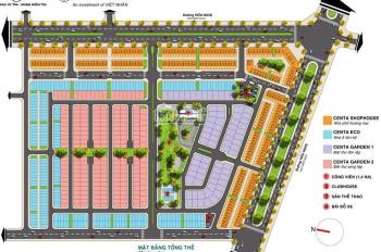 Cần bán gấp 1 căn Shophouse dự án Centa City Vsip Bắc Ninh, giá chỉ 16.5 triệu/m2