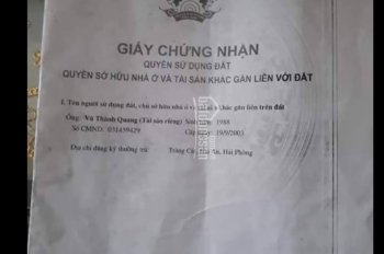 Bán đất Thành Tô, Hải An, Hải Phòng