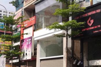 Cho thuê nhà mặt phố Lê Văn Hưu, 30m2 x 2 tầng, mặt tiền 4m, cho thuê làm salon tóc, phòng vé