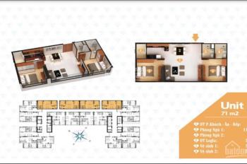 Bán căn hộ Diamond Sea 71m2, view Bến Đình Sao Mai, phòng khách cực rộng, LH: 0902 667 639