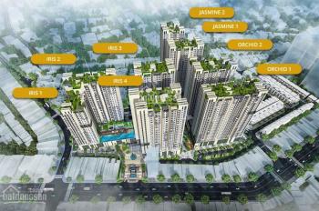 Bán căn hộ Hà Đô Centrosa Garden 80.37m2, 2PN, 2WC