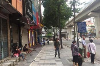 Hiếm! Mặt phố, Quang Trung, Hà Đông, DT 103m2, 4 tầng, MT 4.4m, giá 13 tỷ