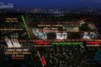 Cơ hội đầu tư - biệt thự, liền kề Nguyễn Xiển, trung tâm 5 quận Hà Nội