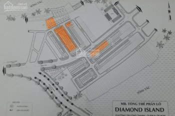 Giai đoạn cuối chỉ còn duy nhất 30 nền đất của Đảo Kim Cương, Quận 9, LK Vincity. Chỉ 2.8 tỷ/nền