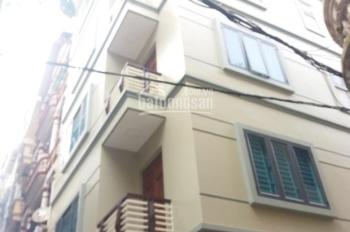 Cho thuê nhà ngõ 6 phố Trần Quốc Hoàn, DT 50m2 xây 5 tầng, căn góc 2 mặt tiền , cách 1 nhà ra phố