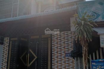 Nhà mặt tiền Thới Tam Thôn 14, 5x20m, đúc 2 tấm SHR, giáp Q12, cần bán gấp