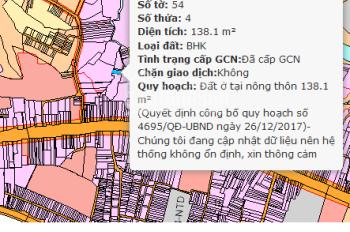 Bán đất tại xã Hố Nai 3, Huyện Trảng Bom, Đồng Nai