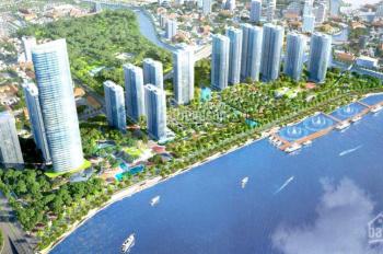 Chuyên cho thuê căn hộ Vinhomes Golden River, miễn phí dịch vụ Saigon Greenland, LH: 0901444132