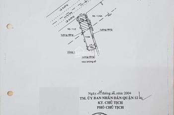 Bán nhà chính chủ MT Hà Huy Giáp, P. Thạnh Lộc, Quận 12, TP. HCM