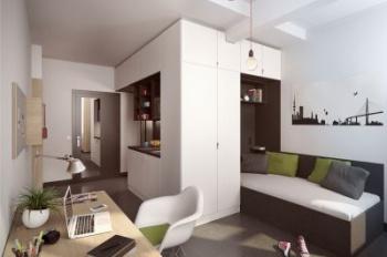 Cho thuê căn hộ Miếu Nổi 57m2 2PN full nội thất giá 9tr5/th cọc 1 tháng, LH 0934014801