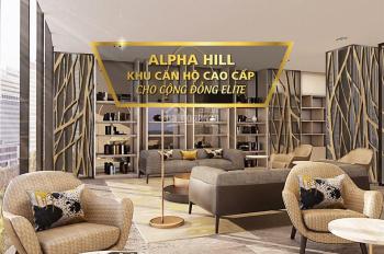 Căn hộ đẳng cấp thượng lưu 6 sao tại tòa tháp đôi Alpha Hill Quận 1 - HL: 09.0878.1616
