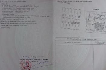Chính chủ cần bán gấp đất phường Long Tâm, thị xã Bà Rịa, thành phố Vũng Tàu