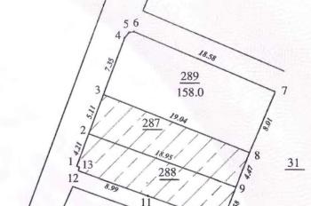 Chính chủ bán đất 2 mặt tiền tại Đông Ngạc, DT 158m2, gần chợ Vẽ - LH chính chủ 0982774186
