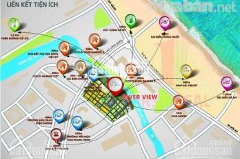 Mở bán dự án Hot nhất phía nam Đà Nẵng khu đô thị River View chỉ 12tr/m2 LH 0976536325
