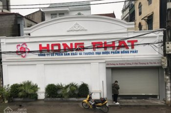 Cho thuê nhà làm văn phòng mặt phố An Dương Vương, Tây Hồ HN