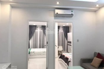 Cho thuê nhà có 14 CHDV mới xây 5x23m, 6L, TM, HXH ngay cầu Nguyễn Văn Cừ - Dương Bá Trạc, Q. 8
