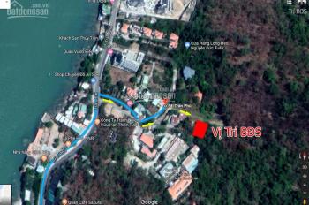 Trí BĐS, bán đất 500m2 (có 200m2 đất ở) hẻm 54 Trần Phú, P5, Vũng Tàu. View biển
