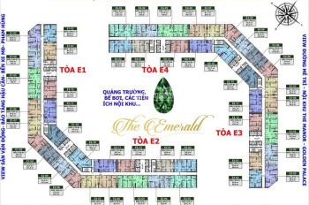 Bán lỗ 200tr, chung cư The Emerald, 1602 - 80m2 và 1604 - 96m2, giá 31tr/m2, LH: 0981 917 883 MTG