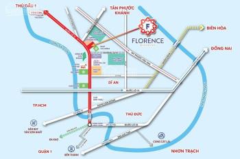 Dự án đất nền Florence Resident MT QL13 Thuận An, tiềm năng sinh lợi cao nhất Bình Dương giá 1.5 tỷ