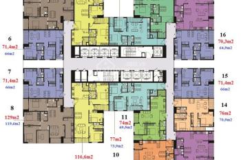 CC bán gấp CH Imperial Plaza, 1506: 128m2, 1111: 112,6m2, 1605: 79,8m2, 25tr/m2, LH: 0936.076.186