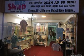 Sang nhượng và cho thuê cửa hàng quần áo trẻ em đã có sẵn đồ đạc, 12m2, 3.5 tr/tháng tại Bạch Đằng