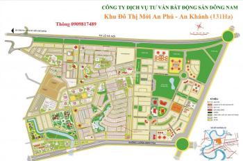 Bán đất An Phú An Khánh, Quận 2 - 0909817489