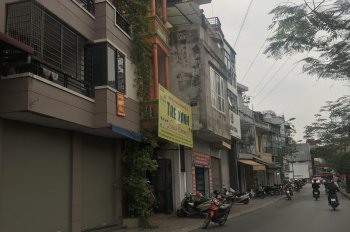Cho thuê nhà riêng đường Kim Đồng, nhà 55m2 x 5 tầng, ô tô đỗ cửa, 14 tr/th